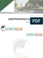 Template Presentasi CGISE