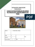 Casas Autosustentables