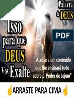 Jejum e Oração - Vida de Cristão
