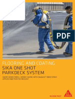 Flooring Spray Application Flyer