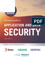 Dzone-2016 Guide to Application Security