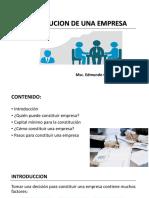 Constitucion de Una Empresa (1)