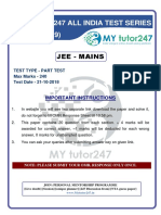 Part Test 1 - 21102018