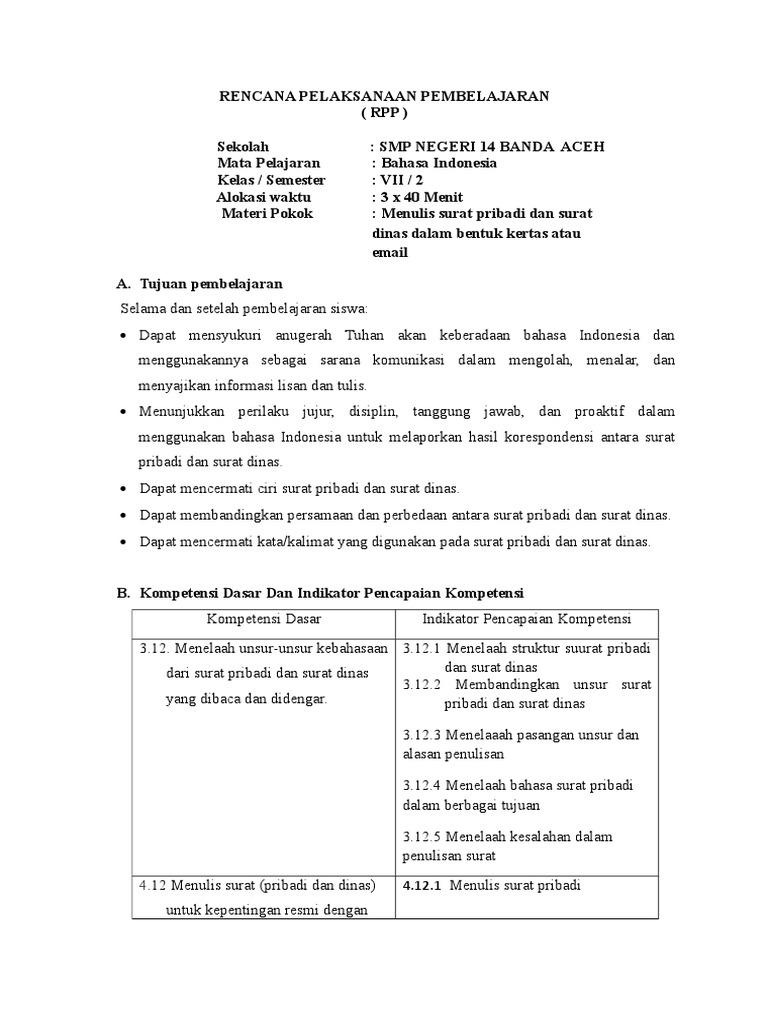 Rpp Surat Ddocx