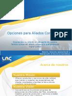 Productos y servicios Web Para Aliados Comerciales