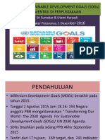 Sosialisasi Sustainable Developtment Goals Sdgs Implementasi Di Perpustakaan