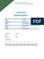 22.3 - Alcohols 2c - Edexcel Igcse 9-1 Chemistry Qp