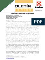 12-07 Patos - Nutricion y Alimentacion