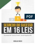 segredo do sucesso em 16 leis
