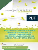Capacitacion Rutas y Protocolos Consumo Drogas