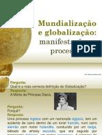 Mundialização e Globalização