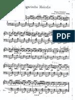 Schubert - Melodía húngara en Si menor (D. 817).pdf