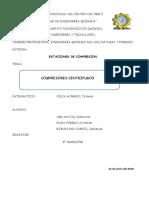 COMPRESOR CENTRIFUGO - INFORME