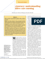 Going on a Journey Understanding Palliative Care