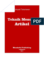 eBook Teknik Menulis Artikel