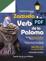 La Verbena de La Paloma Smedia Programa