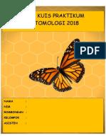 Buku Kuis Praktikum Entomologi 2018