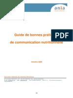 Guide Com Nutritionnelle