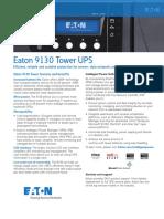 Eaton 9130 Ups Brochure