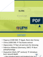 Burn - Dr Jeremy