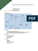 Production of Ethanolamines via Reactiom of Ethylene Oxide and Ammonia Solution