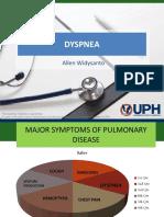 Dyspnea - Dr Allen