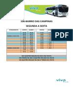 Campinas - Dias Uteis