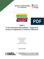 Formation 3i Environnement-Informatique