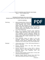 Perdirjen BPK 10 - P 02 Pedoman Pelaksanaan SVLK