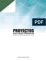 Proyectos Que Hacen Diferencia | Dirección y Gestión de proyectos en 3D