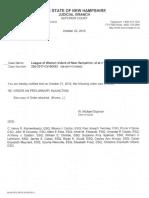 Court order of injunction against Senate Bill 3