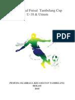 Proposal Tambelang Cup 2018