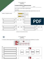 Guia de Trabajo Comparar y Ordenar Fracciones