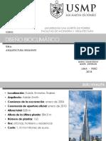 BIOCLIMÁTICO - ARQUITECTURA RESILIENTE