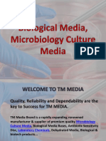 Biological Media & Microbiology Culture Media