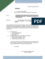 Carta Informe Final de Practicas