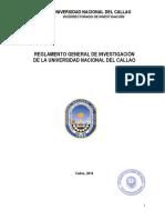 Reglamento de Investigación UNAC