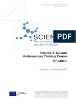 Scientix3 3rd Ambassadors Training Handbook v2