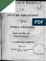 1838 Almanaque