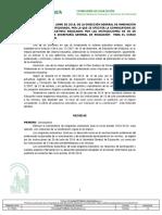 Resolución de 25 de Junio de 2018 Convocatoria Programas