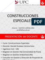 CONSTRUCCIONES ESPECIALES UPC