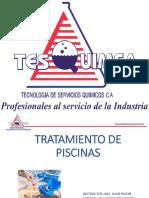INFORMACIÓN TRATAMIENTO QUÍMICO PARA PISCINAS