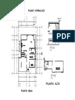 Planta Arquitectonica-model Hidraulico