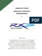 Analisis Fedex Analisis Strategic Management