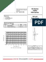 H3C2 Zener-diode Series