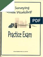 Civil Surveying Review Workshop_Practice Exams