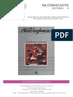 Heterofonía, revista de divulgación cultural