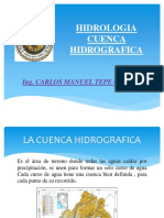 cuenca hidrografica clases