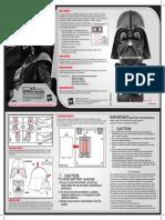 Darth Vadar Helmet Manual
