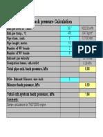 Exh Back Press Calcn-Volvo